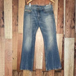 Mens Zathan diesel jeans 34W 30L